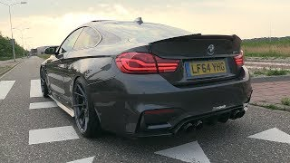 Download BMW M4 F82 w/ Fi Exhaust - LOUD Revs, Accelerations, POP & BANGS!! Video