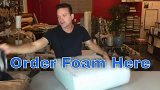 Download Replace the foam in your seat cushions fast and easy! Video