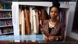Download Une nouvelle génération d'entrepreneurs en Afrique australe Video