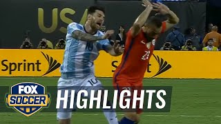 Download Argentina vs. Chile | 2016 Copa America Final Highlights Video