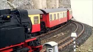 Download Modell-Gartenbahn 99 7222 von Eisfelder-Talmühle nach Goetheweg Video