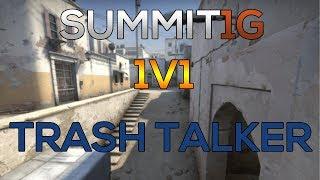 Download CS:GO 1v1 ● SUMMIT1G vs TRASH TALKER! [ de dust2 ] Video