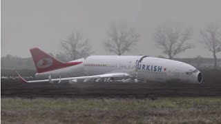 Download Animation - Turkish Airlines crashed during approach, Boeing 737-800 - Dutch Safety Board Video