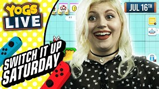 Download SWITCH IT UP SATURDAY TUESDAYS - Super Mario Maker 2 w/ Zylus & Mousie - 16/07/19 Video