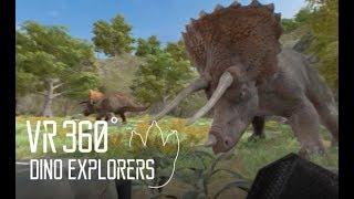 Download 🌟VR360 다이노 탐험대   VR360 DINO EXPLORERS   VR   가상현실   트리케라톱스   Triceratops VR   DINO VR Video