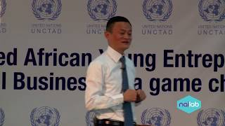 Download Ali Baba founder Jack Ma talks to entrepreneurs at Nailab Incubator Video