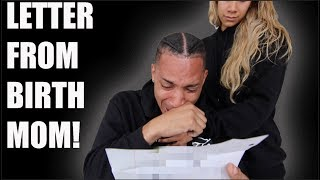 Download READING LETTER FROM MY BIRTH MOTHER FOR MY BIRTHDAY! (VERY EMOTIONAL) Video