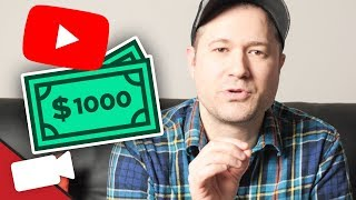 Download How Many Subs Do You Need to make $1,000 on YouTube? Video