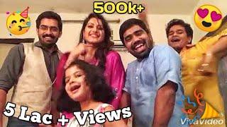 Download Pari & Rangde-Patil's Dancing Nakalat Sare Ghadle Makeuproom Masti Video