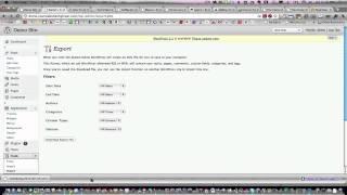 Download Upgrade to WordPress 3.1 Video
