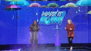 Download Ellen 'Makes It Rain' $10,000 for a Lucky Fan! Video