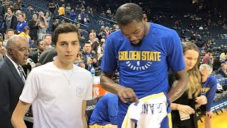 Download KEVIN DURANT MADE ME WEAR HIS JERSEY!! Video