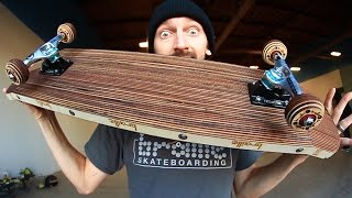 Download EPIC LASER CUT SKATEBOARD AND WHEELS | YOU MAKE IT WE SKATE IT EP 69 Video