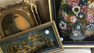 Download Shopping Hoarders estate sale tons of antiques and treasures Lots of tools and Interesting paintings Video