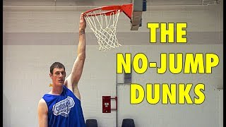 Download 5 Basketball Players Who Did The NO-JUMP DUNKS Video