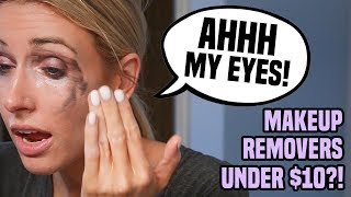 Download I Tried 5 Makeup Removers Under $10 in 5 Days.. DO THEY EVEN WORK?! Video
