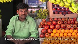 Download How a mini cold storage helped Jaggu Sahu minimize business losses Video
