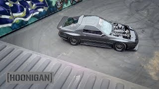 Download [HOONIGAN] DT 048: 1100HP Twin Turbo FC RX7 Gets Rowdy Video