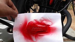Download HOW TO SPRAY PAINT COMPANY'S ENGRAVED NAME ON YOUR MOTORCYCLE'S ENGINE Video