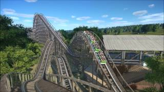 Download Planet Coaster - Wolverine (Wooden Coaster) Video