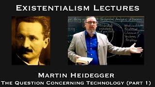 Download Martin Heidegger | Question Concerning Technology (part 1) | Existentialist Philosophy & Literature Video