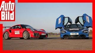 Download Porsche 911 GT2 RS vs McLaren 720S (2018) Fahrbericht/Test/Review Video