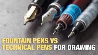 Download Fountain Pens vs Technical Pens (Quick Guide) Video