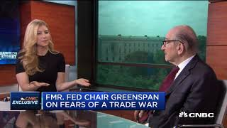 Download Alan Greenspan: We're On The Edge Of A Trade War Video