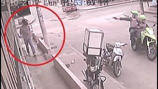Download Asaltan a Cobra Diario, Asaltante se hace pasar por cliente pero es atrapado Video