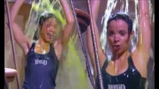 Download Anne-Gaëlle gets soaked in a Fort Boyard challenge Video