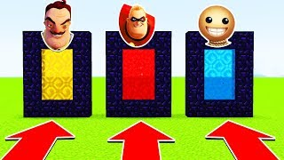 Download DO NOT CHOOSE THE WRONG PORTAL (HELLO NEIGHBOUR, INCREDIBLES 2 , KICK THE BUDDY) (PS4/XboxOne/MCPE) Video