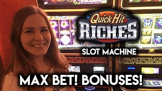 Download Quick HIT RICHES! MAX Bet Lots of BONUSES! Video