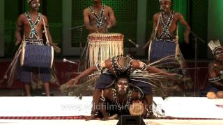 Download Sidi goma African-Indian from Gujarat with an exhilarating dance Video
