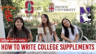 Download Discussing Our ACCEPTED Essays to Stanford, USC, Brown, NU, & UMich Video