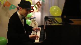 Download Happy Birthday! - Jazzy Piano Arrangement by Jonny May Video
