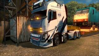 Download [ETS 2 v1.26] VOLVO FH16 2013 OHAHA + SKIN VOLVO OCEAN RACE + SOUND + TUNING Video