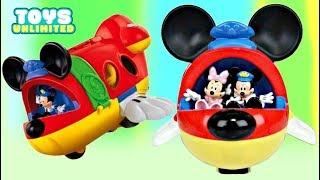 Download Disney Jr. MICKEY MOUSE & FRIENDS Airplane Jet, Minnie Donald Fly Pilot PJ Masks Paw Patrol / TUYC Video