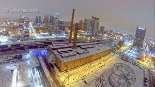 Download Aerial Video of Winter Storm 2014 Alabama Part 2 - SkyBama Video
