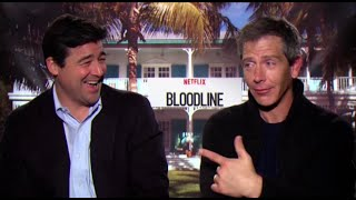 Download Kyle Chandler & Ben Mendelsohn ('Bloodline') talk sibling rivalry, sea lice, and swimsuit models Video