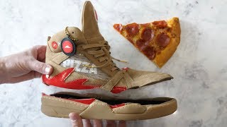 Download What's inside Pizza Ordering Shoes? Video
