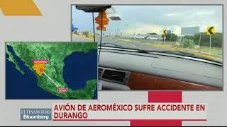 Download Se reporta caída de avión de Aeroméxico del vuelo 2431 en Durango; reportan que no hay fallecidos Video