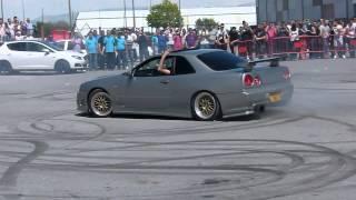 Download Concentracion tuning ciudad de Baza 2ª, 2013 -Nissan Skyline HD- Drifting/Trompos Video