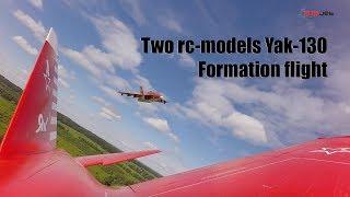 Download Two Yak-130 formation flight / Пара Як 130 полет парой Video