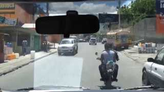 Download A long Sunday drive from the airport in Port-au-Prince, Haiti... Video
