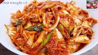 Download KIM CHI CẢI THẢO - Cách làm Kim Chi trộn ăn liền Chay mặn đều dùng được by Vanh Khuyen Video