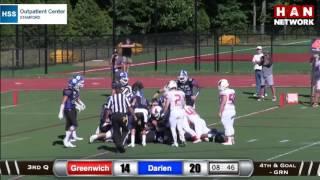 Download HAN Highlights: Darien vs. Greenwich football Video