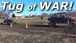 Download Tug of War! RS1 vs Turbo S vs X3 vs Ranger vs 3500HD! Video