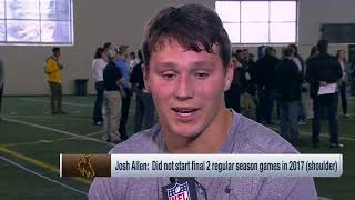 Download Wyoming QB Josh Allen aces Mike Mayock's pop quiz after his pro day | Mar 23, 2018 Video
