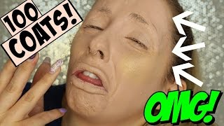 Download 100 LAYERS OF FOUNDATION & HIGHLIGHT - OMG! Video