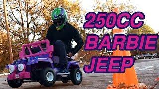 Download We Built a 250cc Power Wheels Barbie Jeep Video